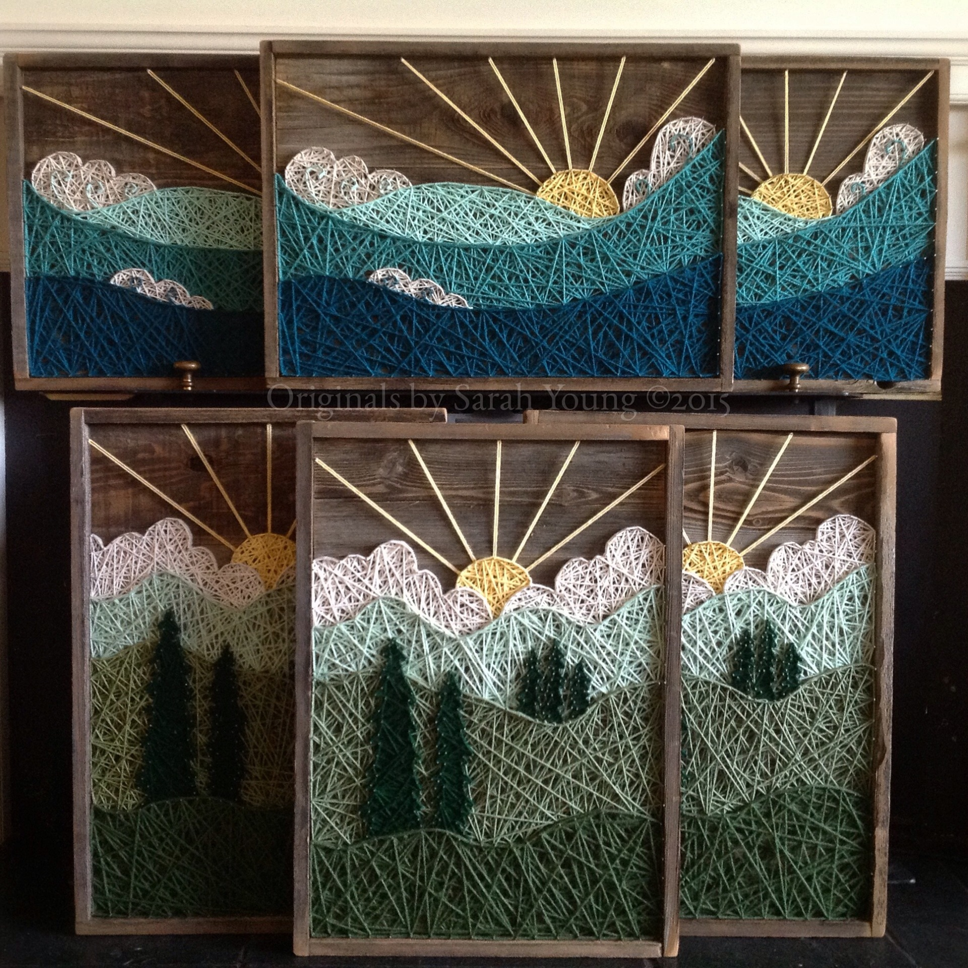 String Art Landscapes